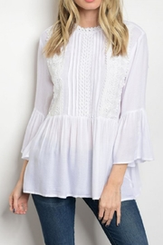 CY USA Babydoll Top - Front cropped