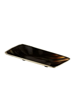 Shoptiques Product: Horn & Nickel Tray