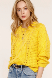 Heartloom Cyndi Sweater - Front cropped