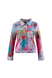 Dolcezza Cynthia Anne Brown Jean Jacket - Product Mini Image