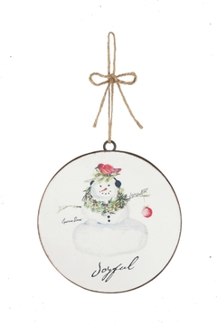 Sullivans Cynthia-Dunn Snowman Ornament - Alternate List Image