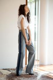 Cynthia Buttenklepper Denim High-Rise Pants - Front cropped