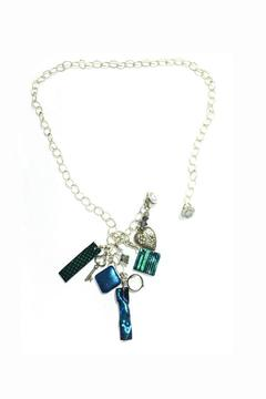 Shoptiques Product: Dangling Glass Necklace
