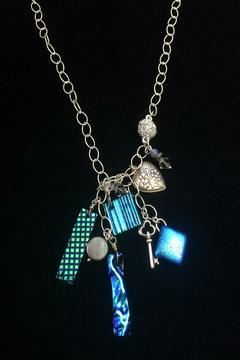 Cynthia James Dangling Glass Necklace - Alternate List Image
