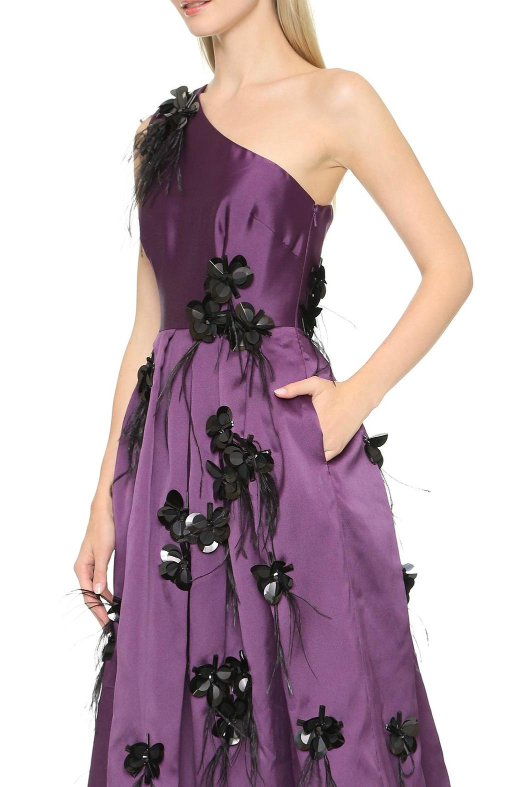Cynthia Rowley One Shoulder Dress - Front Full Image
