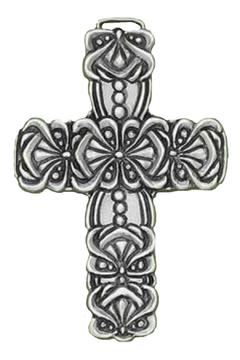 Shoptiques Product: Pewter Wall Cross