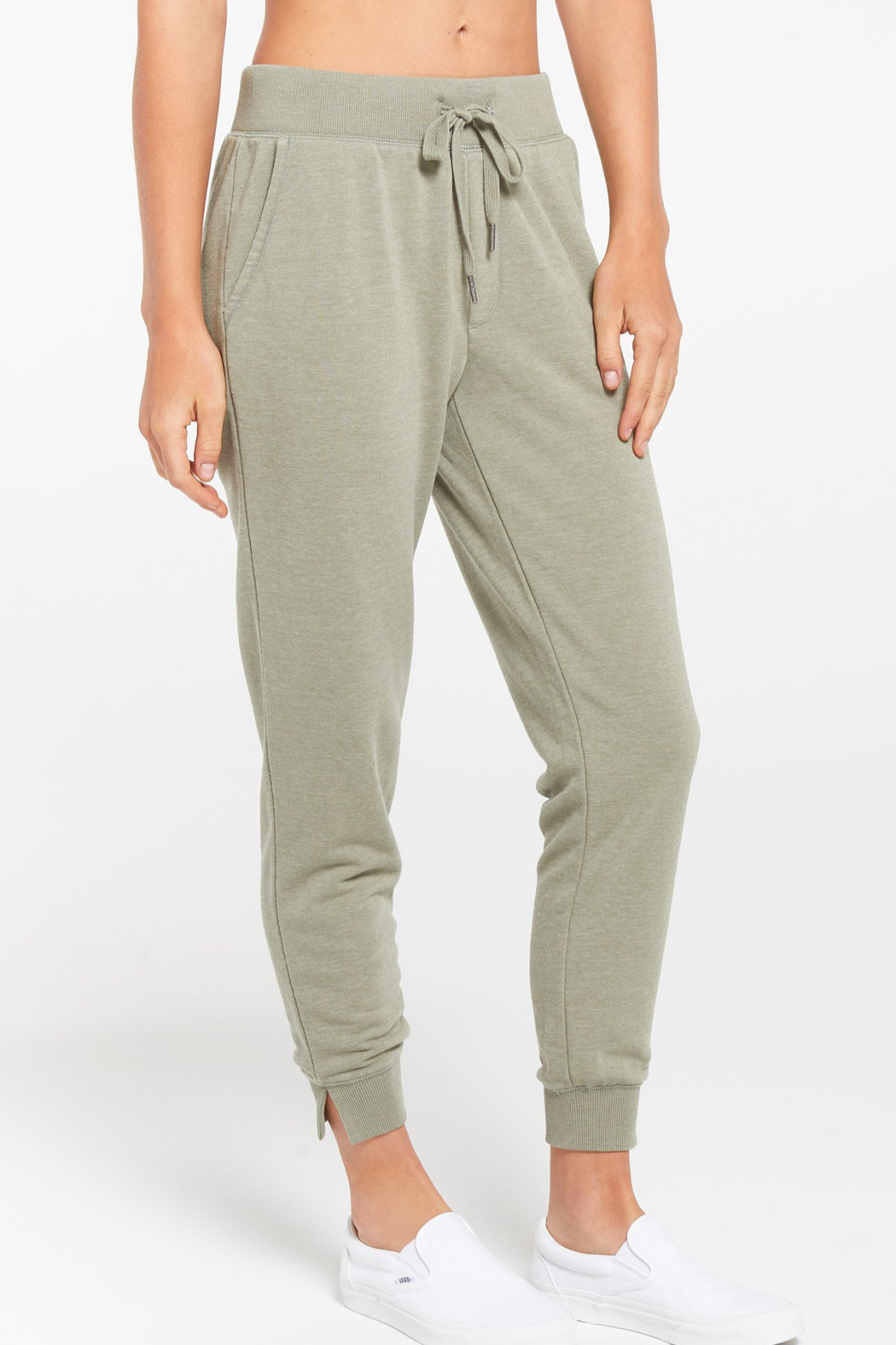 z supply Cypress Terry Jogger - Front Full Image