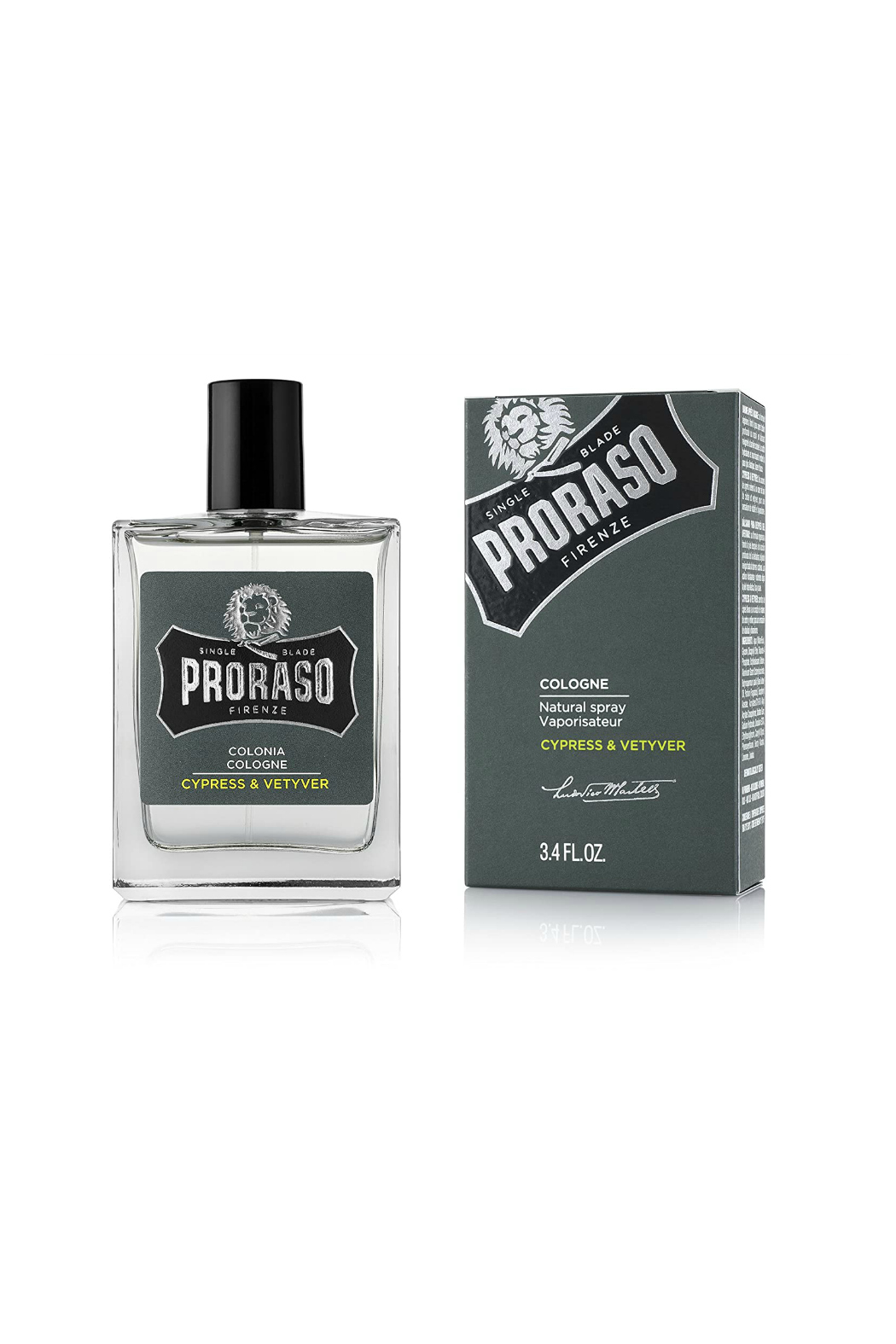 Proraso CYPRESS & VETYVER COLOGNE - Main Image