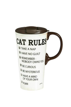 Cypress Home Cat Rules Cup - Product List Image