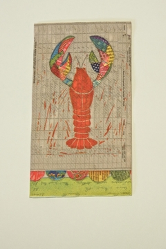 Cypress Home Lobster Guest Napkins - Product List Image