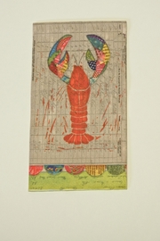 Cypress Home Lobster Guest Napkins - Product Mini Image