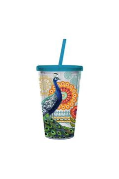 Shoptiques Product: Peacock Insulted Cup