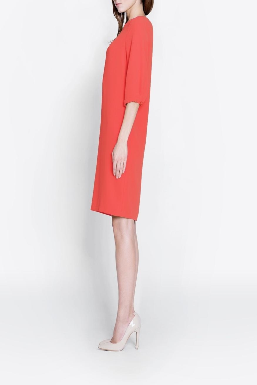 CYRILLE GASSILINE A Line Dress - Side Cropped Image
