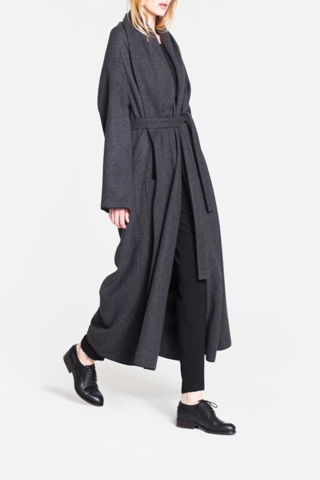 CYRILLE GASSILINE Belted Coat - Main Image