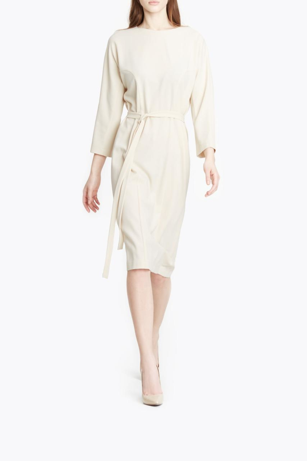 CYRILLE GASSILINE Belted Midi Dress - Main Image