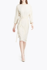 CYRILLE GASSILINE Belted Midi Dress - Product Mini Image