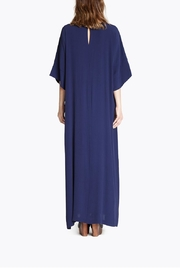 CYRILLE GASSILINE Blue Maxi Dress - Back cropped