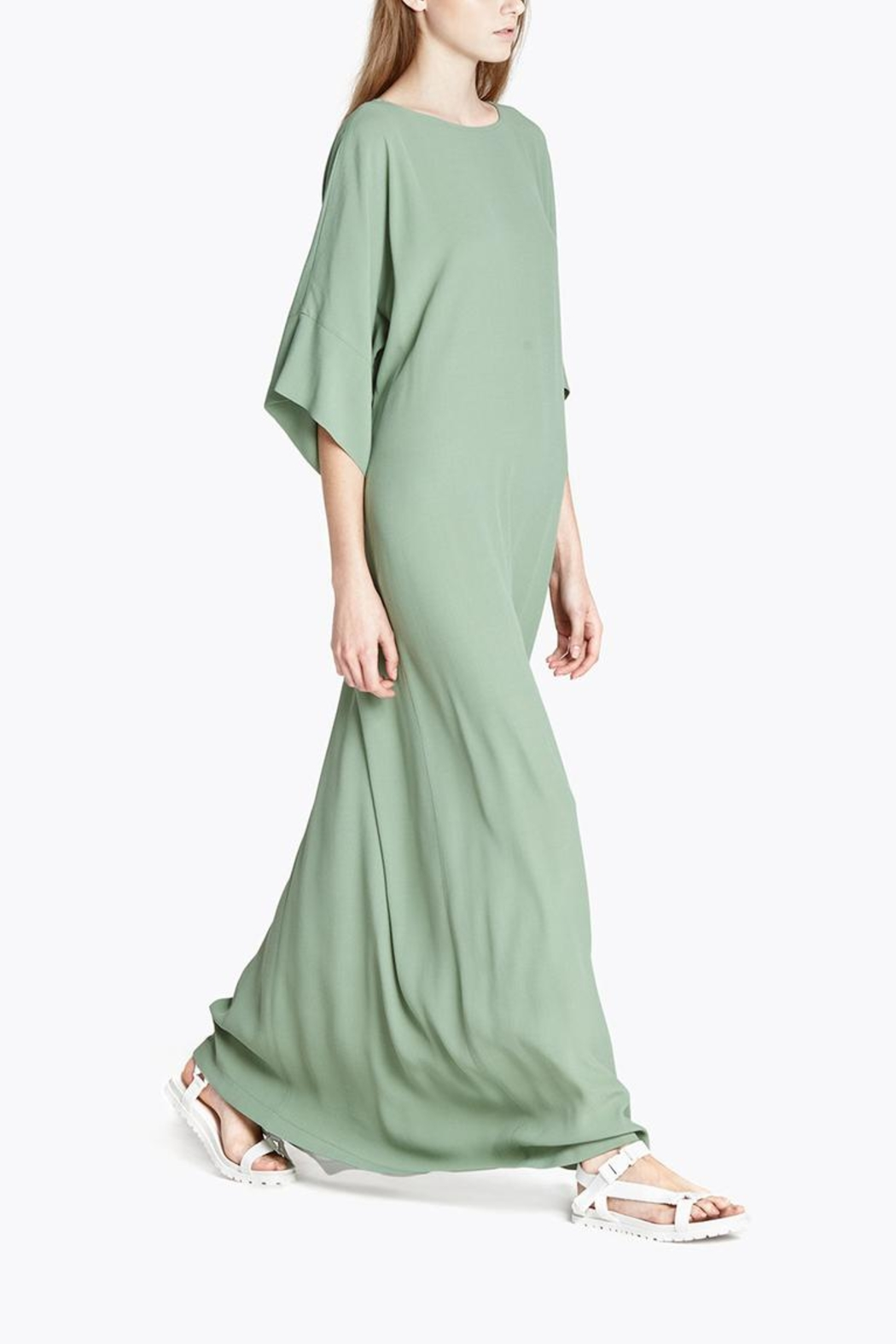 CYRILLE GASSILINE Mint Maxi Dress - Front Full Image