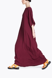 CYRILLE GASSILINE Burgundy Maxi Dress - Product Mini Image