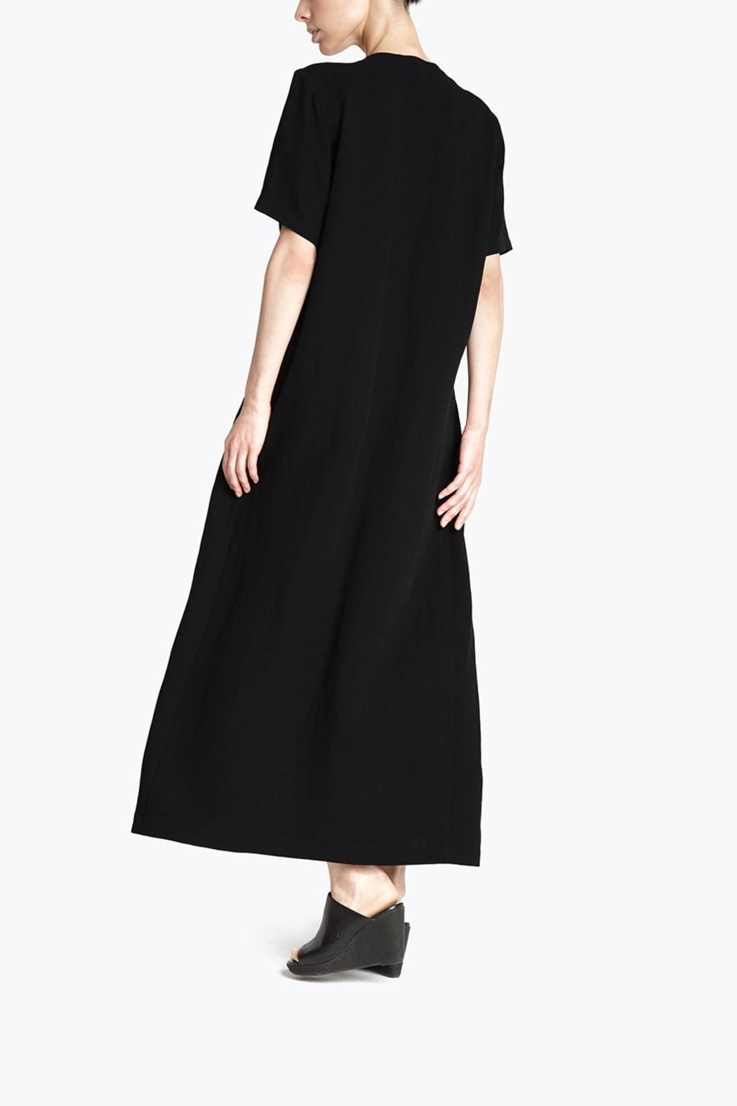 CYRILLE GASSILINE Drawstring Shirt Dress - Side Cropped Image