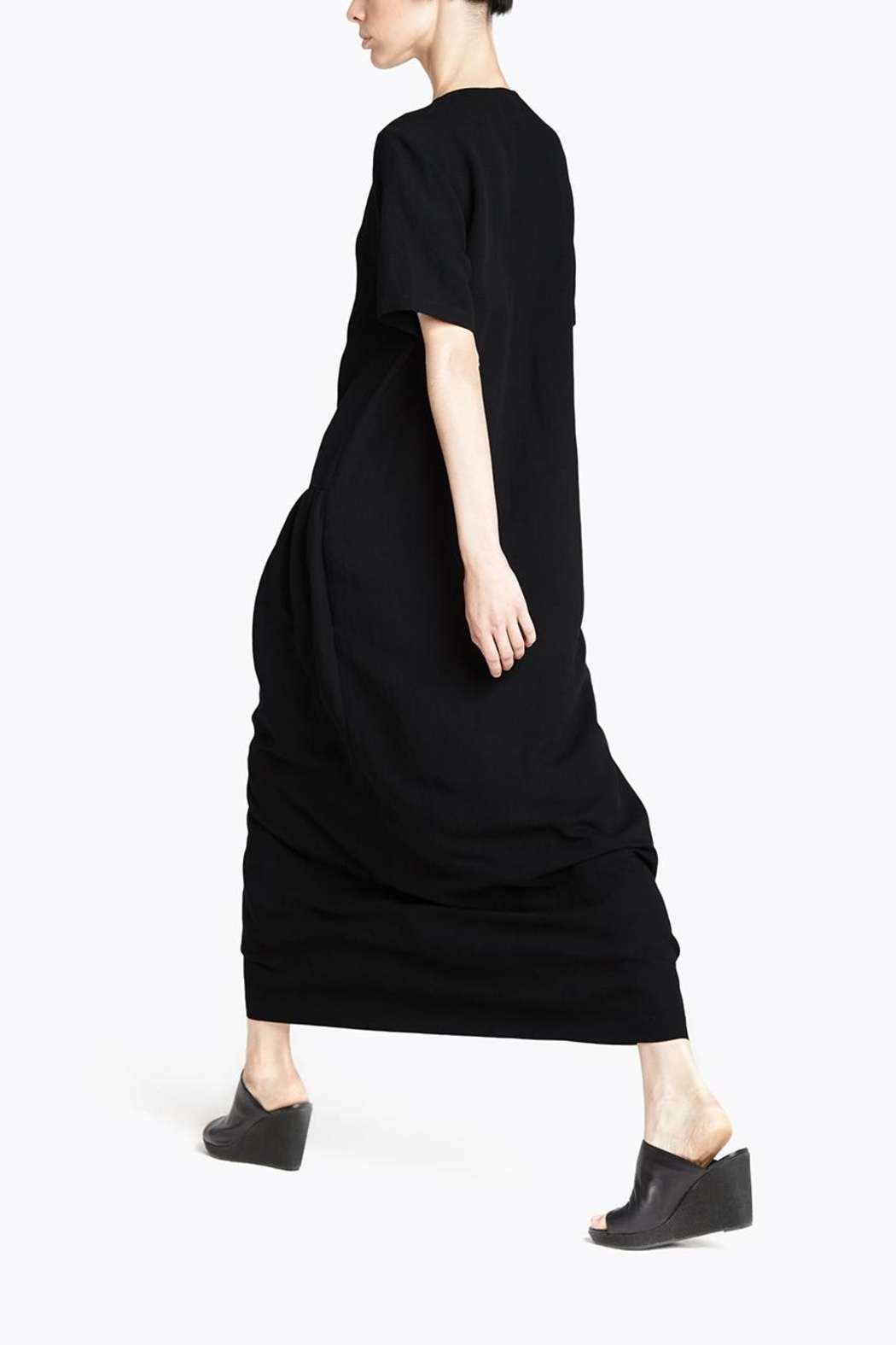 CYRILLE GASSILINE Drawstring Shirt Dress - Front Full Image