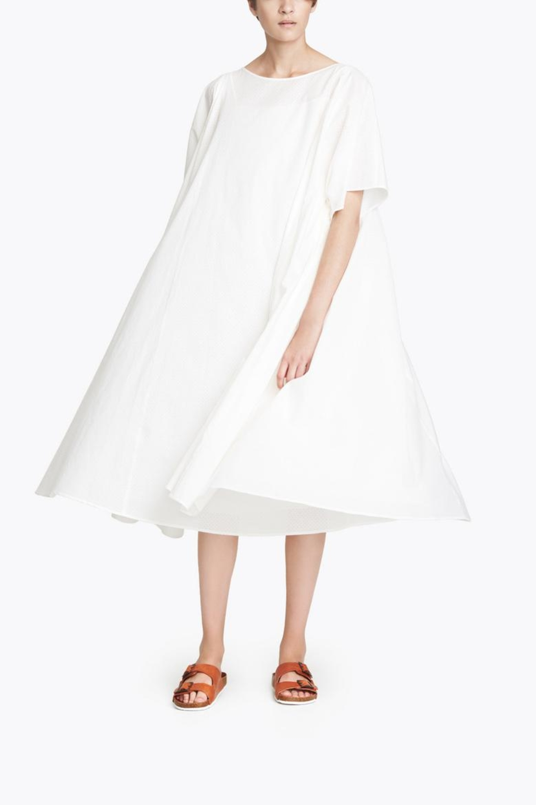 CYRILLE GASSILINE Guava Tent Dress - Side Cropped Image