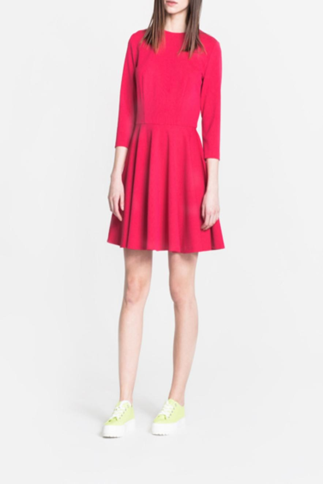 CYRILLE GASSILINE Marin Mini Dress - Front Cropped Image