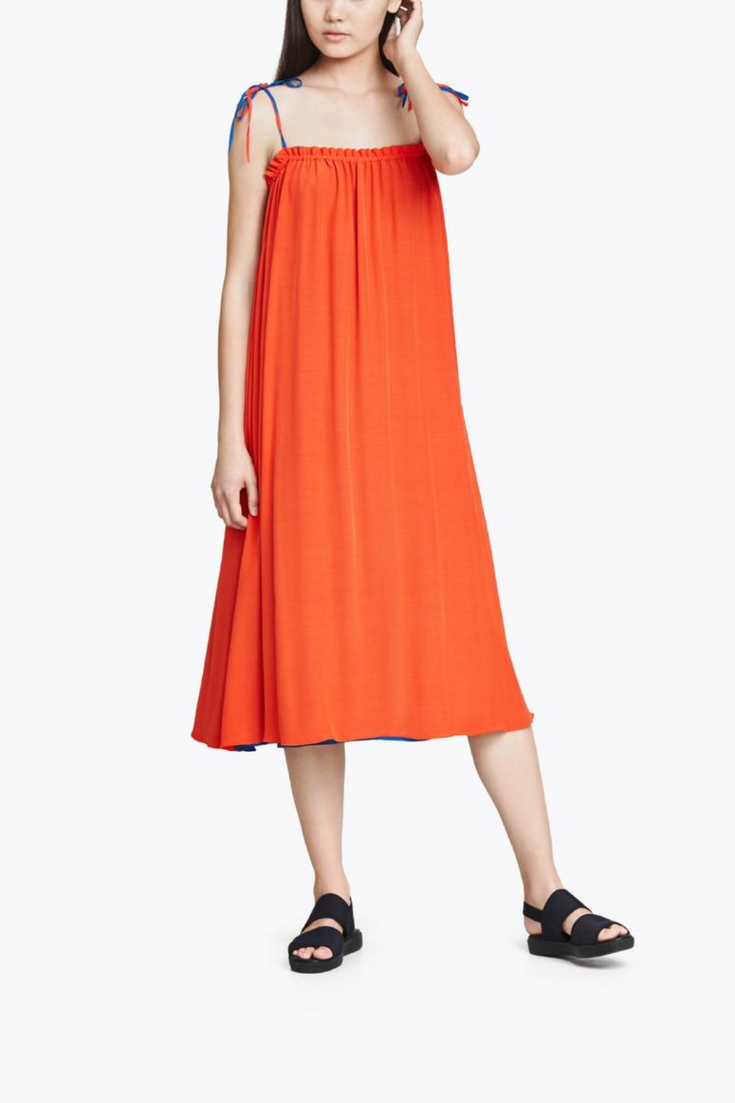 CYRILLE GASSILINE Shara Reversible Dress - Back Cropped Image
