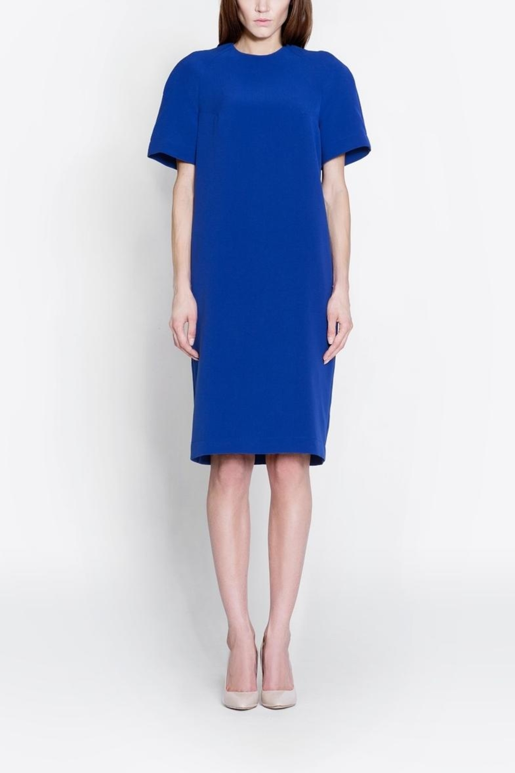 CYRILLE GASSILINE Short Sleeve Dress - Front Cropped Image