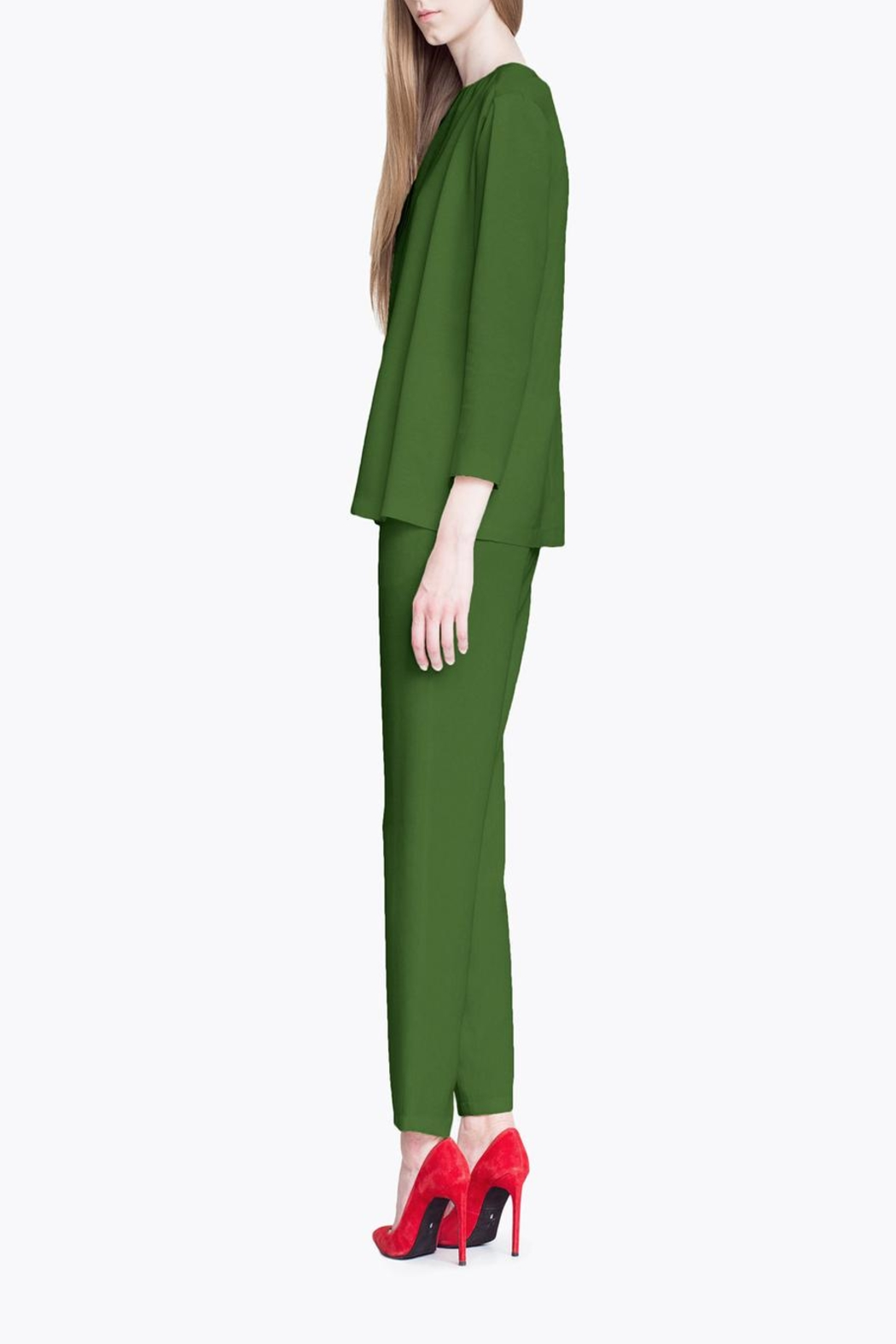 CYRILLE GASSILINE Tailored Trouser Co-Ord - Back Cropped Image