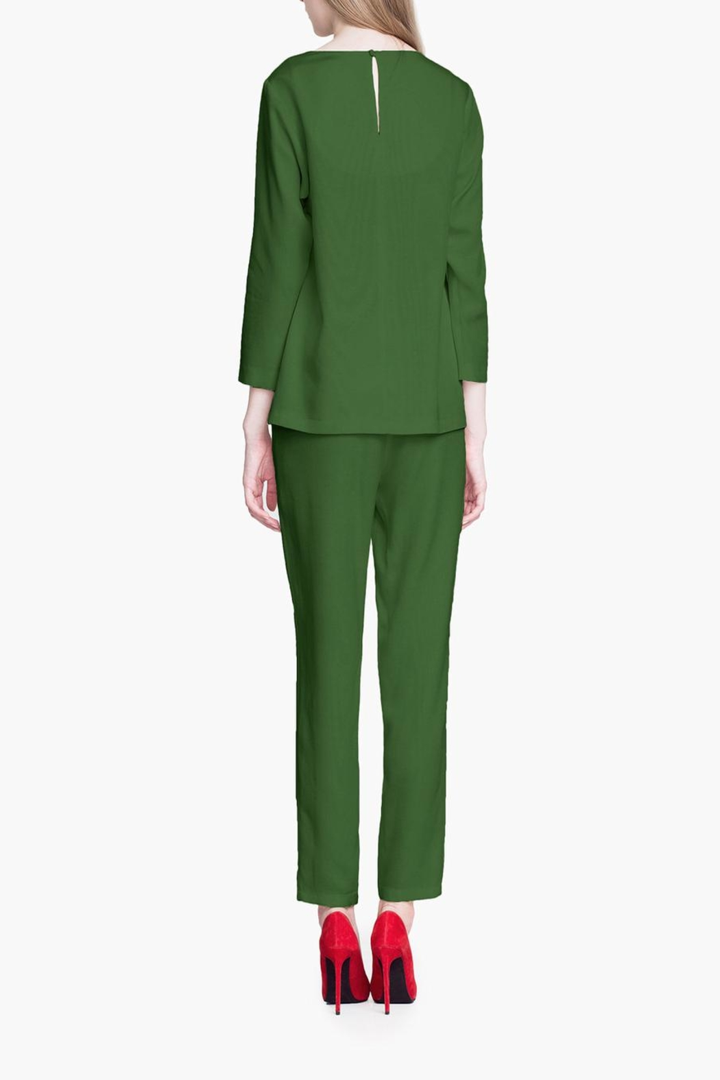 CYRILLE GASSILINE Tailored Trouser Co-Ord - Side Cropped Image