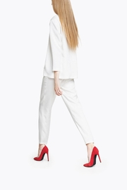 CYRILLE GASSILINE Tailored Trouser Co-Ord - Front cropped