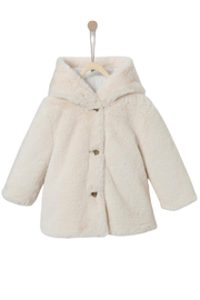CYRILLUS PARIS Cyrillus Paris Faux Fur Warm Coat Jacket - Product Mini Image
