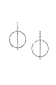 Marlyn Schiff Cz Circle Earring - Product Mini Image