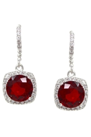 US Jewelry House CZ Drop Earrings - Product Mini Image