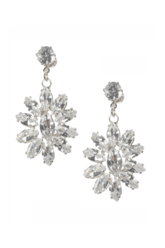 Mimi's Gift Gallery CZ Flower Dangles - Product List Image