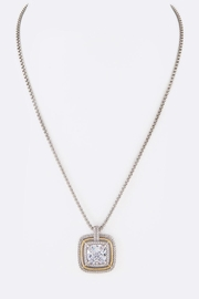 Nadya's Closet Cz Square-Pendant Necklace - Front full body