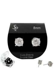 Something Special Cz Stud-Earrings 8mm - Product Mini Image