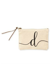 MUDPIE D Cosmetic Bag - Product Mini Image