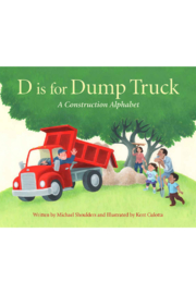 Sleeping Bear Press D is for Dump Truck Board Book - Front cropped