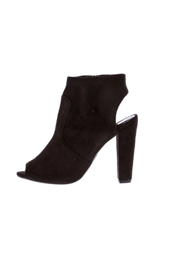 Shoptiques Product: Black Suede Bootie