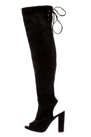 Shoptiques Product: Open Over The Knee Boot