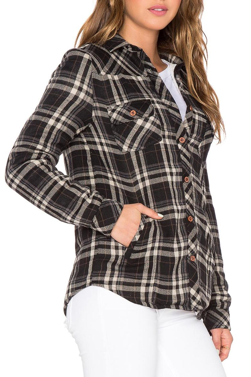 d.RA Fleece Lined Button-Up - Side Cropped Image