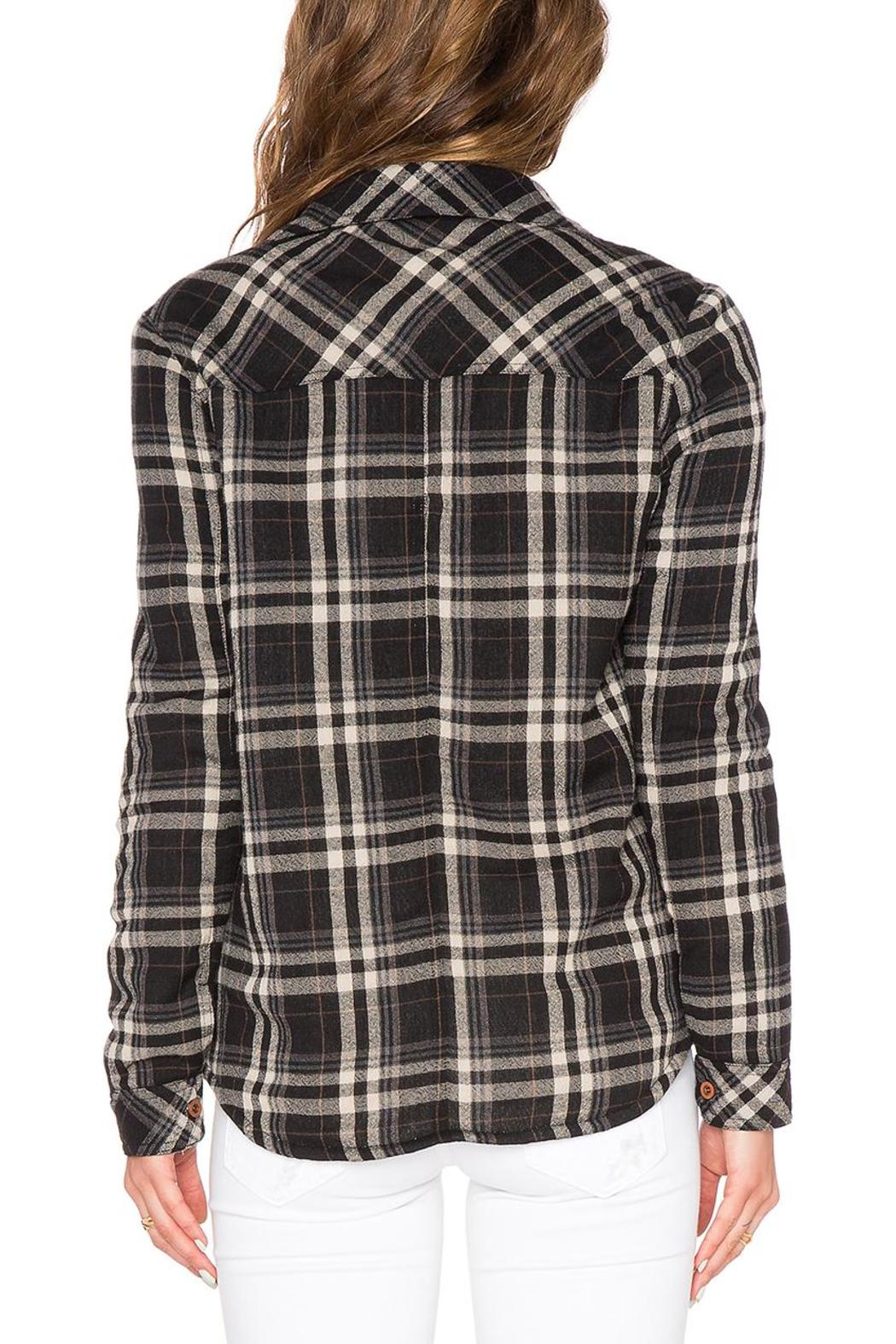 d.RA Fleece Lined Button-Up - Back Cropped Image