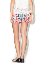 Library Floral Josie Shorts - Back cropped