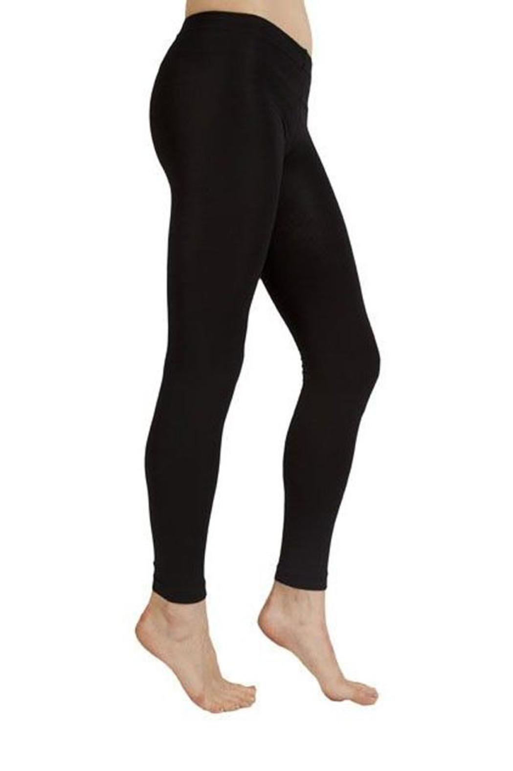 Plush Fleece Lined Legging - Front Cropped Image