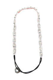 Shoptiques Product: Silver Beaded Headband