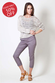 Hope Macrame Sweater - Front cropped