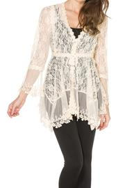 Adore Lovely Lace Cardigan - Product Mini Image