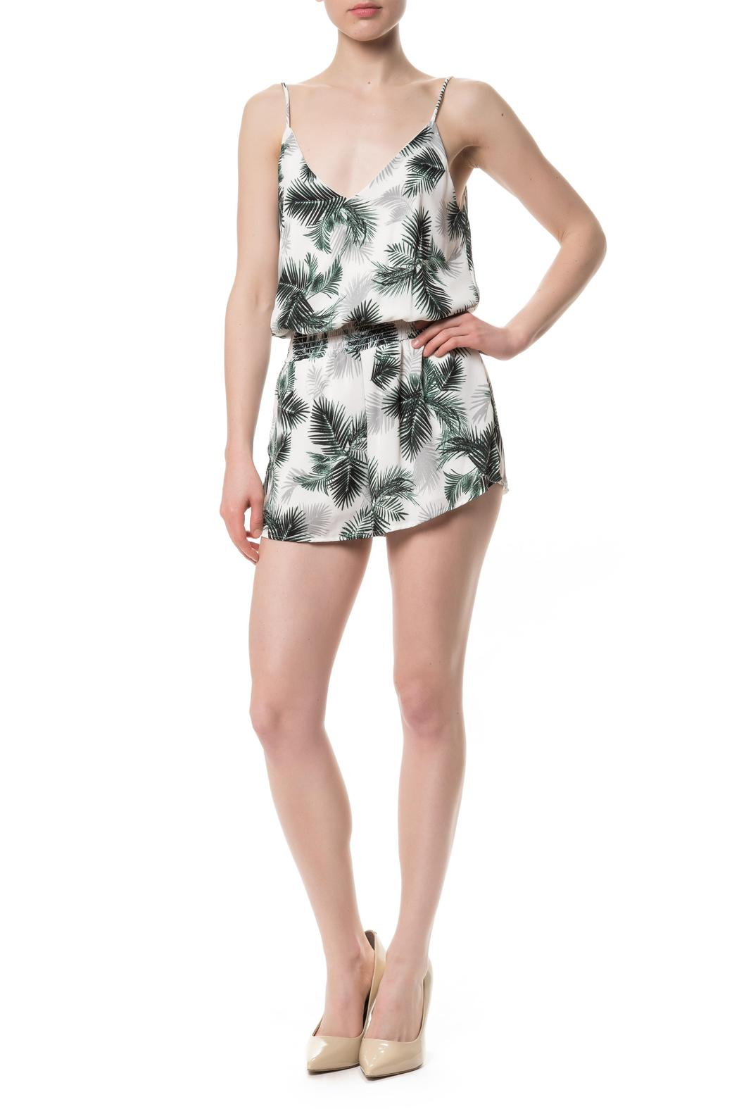 05a71473afcf Vintage Havana Palm Print Romper from New York by Montmartre ...